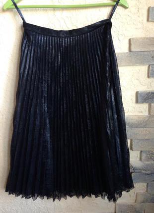 Миди-юбка из гипюра topshop