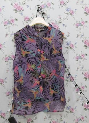 Рубашка с попугаем