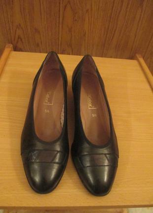 Туфли кожа lady gabor австрия