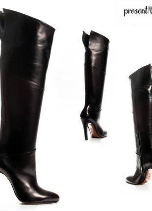 Сапоги итальянского бренда kalliste. оригинал. размеры: 37,5; 38; 39