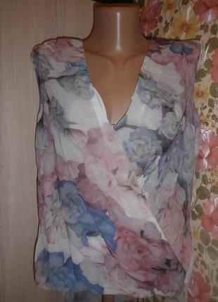 Шикарна блузочка з подовженою спинкою