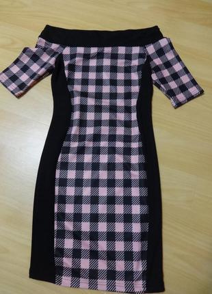 Красивое облегающее платье river island р.8
