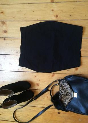 Модная юбка карандаш миди