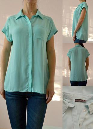 Мятная блуза 10(s-m)