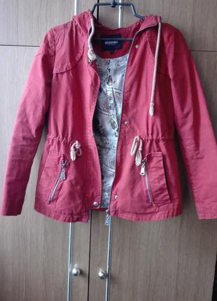 Куртка парка на весну