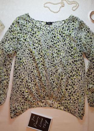 Легкая и воздушная весенняя блуза f&f р.14/m-l/наш 46-48