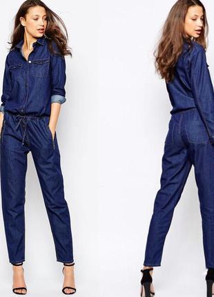 Комбинезон джинсовый женский asos glamorous