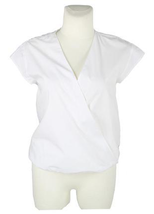 Блуза с кружевной вставкой на спине