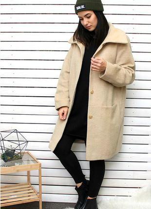 Крутое бойфренд пальто