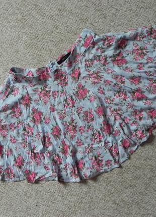 Очаровательная юбка в цветы forever 21