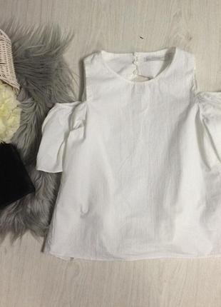 Блуза з відкритою спинкою zara