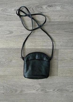 Актуальная кожаная сумка crossbody из натуральной кожи