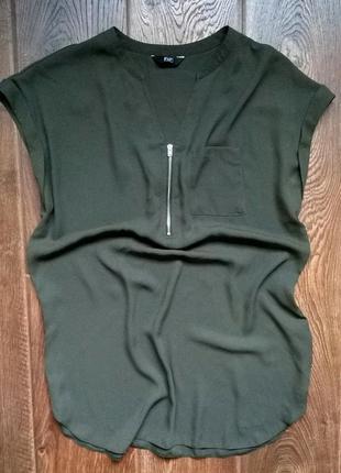 Крута подовжена блуза f&f