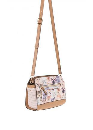 Шикарная и стильная сумка кроссбоди с кошками parfois оригинал,новая с бирками
