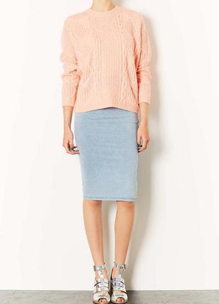 Сюперовая юбка под джинс миди pp.xs-s topshop