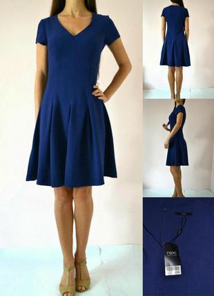 Яркое классическое платье(xs-s)