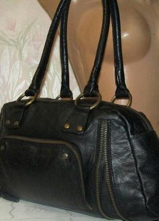 Роскошная сумка 100 % кожа теленка - c&a - !