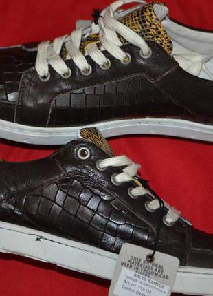 Фирменные туфли от дорогостоящего бренда yellow cab.кожа