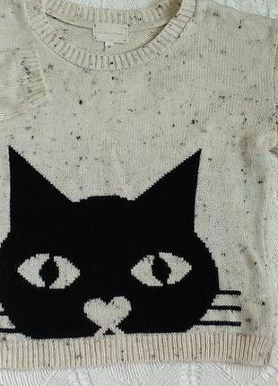 Кофта с котом