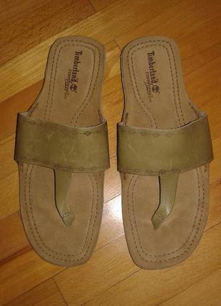 Новые фирменные (оригинал) кожаные вьетнамки timberland  39 разм.