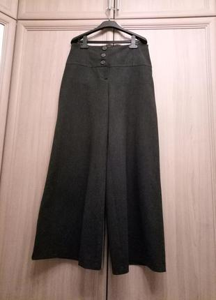 Теплые брюки-юбка