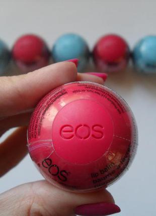Бальзам для губ eos pomegranate raspberry(гранат+малина)