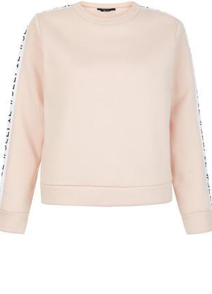 Крутой свитшот свитер толстовка #selfie надпись пастельного цвета