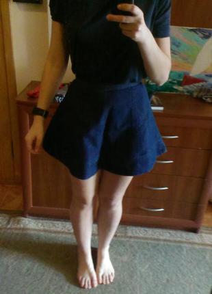 Юбка джинсовая колокольчик international