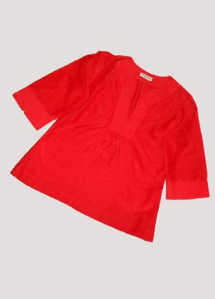 Фирменная блуза из натурального шелка, размер 38-40 eur