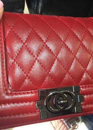 Матовая клатч сумка