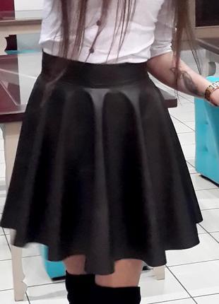 """кошаная"" юбка клеш"