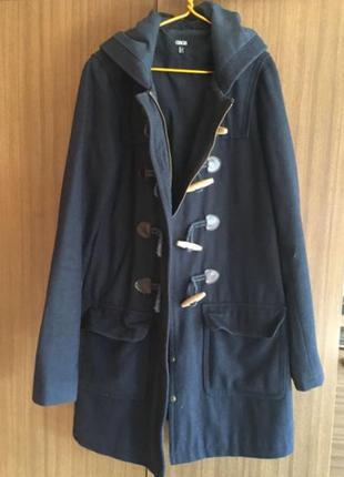 Пальто дафл, даффлкот, duffle coat asos