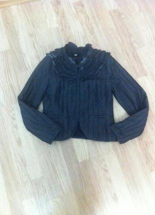 Джинсовая курточка h&m!