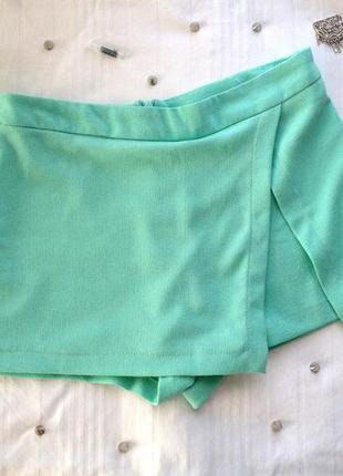 Модные в этом сезоне шорты-юбка от atm