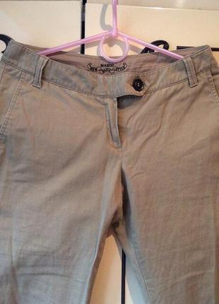 Штаны| чиносы | брюки | mango | mng