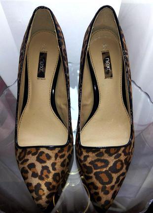 Леопардовые туфли лодочки