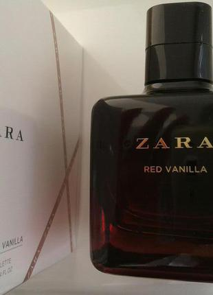 Zara red vanilla 100 ml (оригінал, без коробки, з набору)