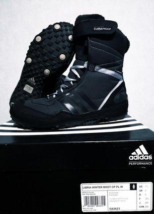 Ботинки кроссовки adidas зимние