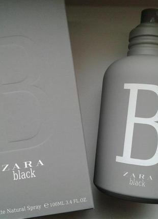 Zara black 100 ml новий дизайн!!!