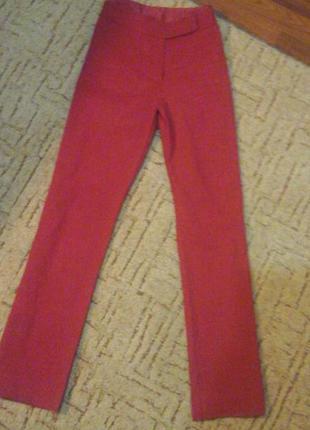 Брендовые красные штаны