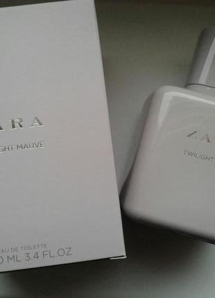 Zara twilight mauve 100 ml (оригинал, в коробке)