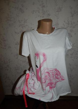 Next пижама трикотажная футболка + штанишки р12