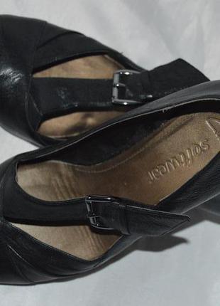 Туфлі шкіряні clarks розмір 38 39, туфли кожа