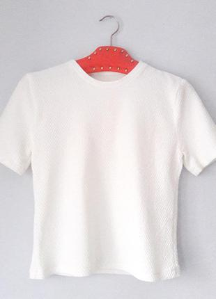 New look s m размер джемпер с короткими рукавами белый