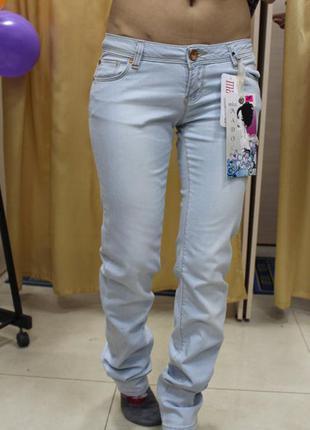 Светлые женские джинсы турция madoc, размер 31 полномерный