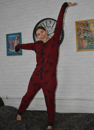 Пижама с оленями next