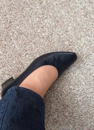 Туфельки кожаные 26.5-27смga