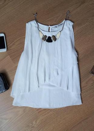 Стильная шифоновая блуза р. xs s
