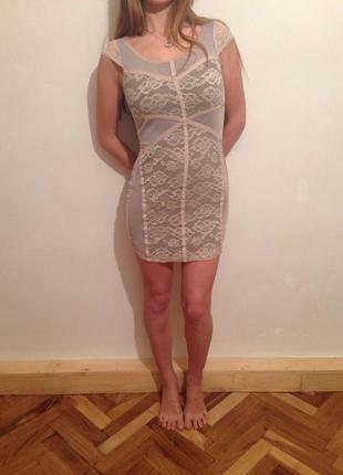 Нежное платье от h&m