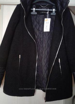 Шерстяное демисезоное пальто reserved